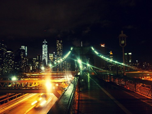 Brooklyn Bridge. Taken by Lee Kaiser.