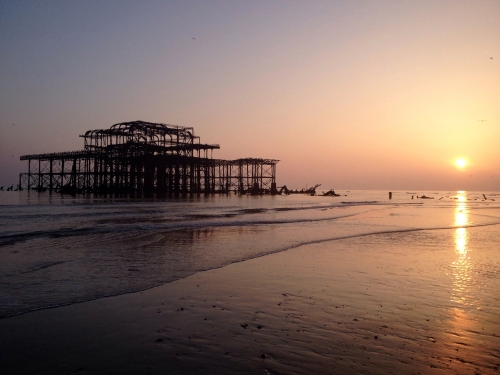West Pier, Brighton, UK. Taken by Laetitia